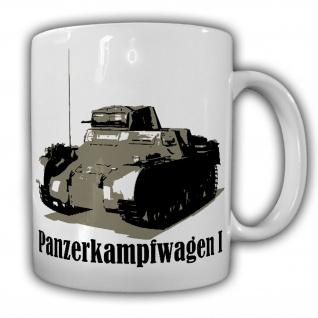 Panzerkampfwagen I Truppe Einheit Militär Fahrzeug Tasse #20154