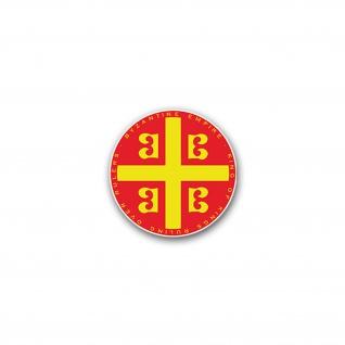 Aufkleber/Sticker Byzantinisches Reich 3 Byzanz Oströmisches Reich 7x7cm#A2293