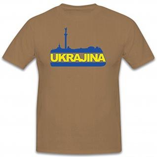 Ukrajina Kiew Maidan Platz Wappen Emblem Abzeichen Freedom for - T Shirt #11332