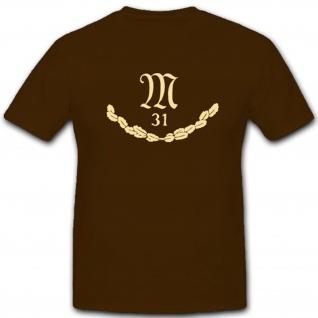 Wh Mg Abteilung 31 Maschienengewehr Deutschland Wk - T Shirt #3927