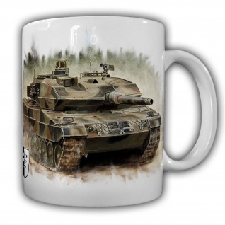 Tasse Lukas Wirp BW Leopard 2 Panzer Bundeswehr Kampfpanzer Leo2A6 #23876