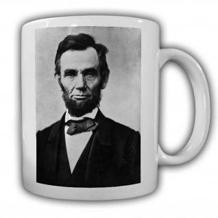 Abraham Lincoin Tasse USA Amerika Hodgenville Sezessionskireg Präsident#22612