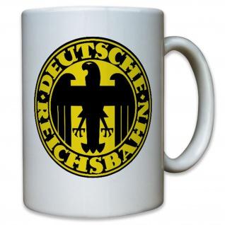 Deutsche Eisenbahn Deutschland DDR Wappen Adler - Tasse #12381