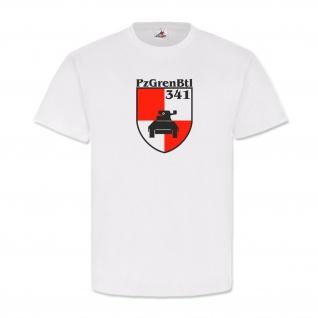 PzGrenBtl 341 Bundeswehr Panzergrenadierbataillon Wappen - T Shirt #3030
