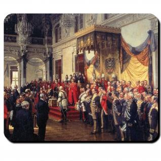 Reichstag Eröffnung 1888 Gemälde Anton von Werner Friedrich Mauspad #16403
