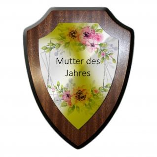 Wappenschild Mutter des Jahres Wanddeko Mama Muttertag Geschenkidee Oma #31320