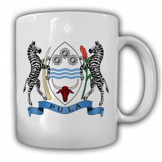 Botswana Flagge Fahne Republik Südafrika - Tasse Becher Kaffee #13423