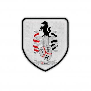 Patch Rössel Familien Wappen Abzeichen Emblem #18206