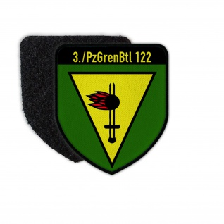 Patch 3 PzGrenBtl 122 Panzergrenadier Batataillon Kompanie Abzeichen #31956