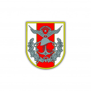 Aufkleber/Sticker Türkische Armee Wappen Abzeichen Nato Heer 6x7cm A1201