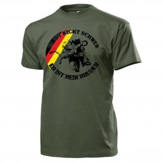 Er ist nicht schwer Sani Sanitäter Medical Support Medic BW - T Shirt #18161