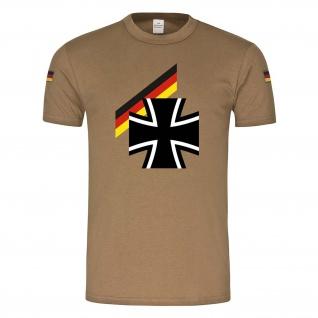 Bundes Heer Militär Soldaten Flagge BW Bundeswehrkreuz Deutschland T-Shirt#23942