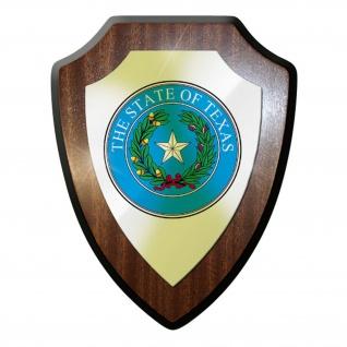 Wappenschild - The State of TEXAS Flagge Fahne USA Emblem Abzeichen #11931