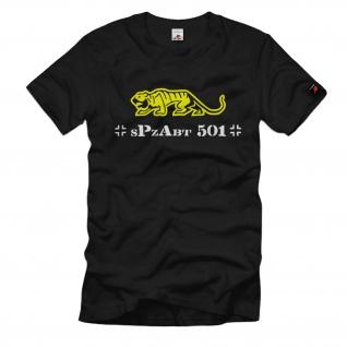 Schwere Panzer Abteilung Spzabt 501 Tiger Einheit Panzerdivision T Shirt #1251