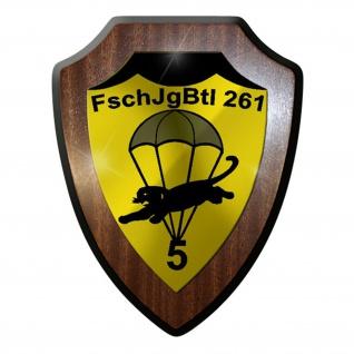 Wappenschild / Wandschild / Wappen - FschJgBtl 261 Fallschirmjäger #8335