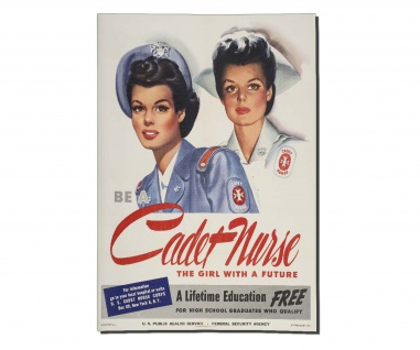 Poster Krankenschwester Sanitäter Militär US Army Rekruten Ami ab30x21cm #30406