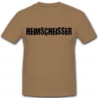 Heimscheisser Zu Hause Toilette Fun Humor Spaß - T Shirt #2033