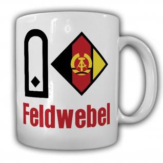 Feldwebel NVA Luftstreitkräfte LSK Luftverteidigung DDR Veteran Tasse #17176