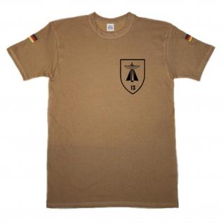 BW Tropen FlaRak Rgt 13 Flak Raketen Artillerie Wappen Abzeichen #14567
