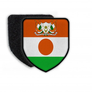 Patch Flag of the Niger Flagge Staat Land Nation Aufnäher Flagge Zeichen #21370