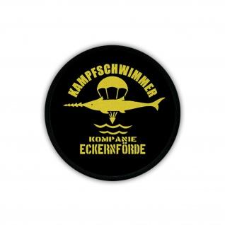 Patch Kampfschwimmer Kompanie Eckernförde BW Marine Wappen Elite #18332