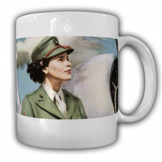 Luftwaffen US Army pin up Girl Tasse Kaffebecher Job Militär #22767