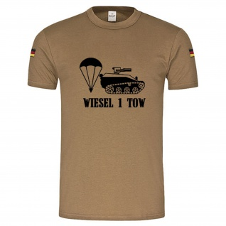 Wiesel 1 TOW Panzer Tank original Tropenshirt nach TL neu #14854