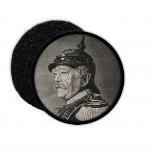 Patch Otto von Bismarck Preußen Deutschland Gründer Aufnäher #32929