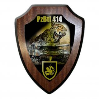Wappenschild Lukas Wirp Panzerbataillon 414 Lohheide Panzer Btl Leopard #24460