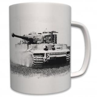 Tiger Panzer Foto Panzerkampfwagen Deutscher Panzer Wk2 - Tasse Becher #6224
