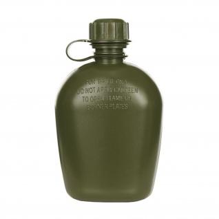 Army Feldflasche 1 Liter Wasser-Flasche US Olive Kunststoff BW #36637