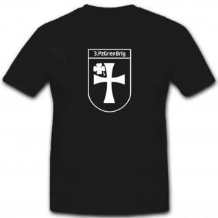 3 PzGrenBrig Panzergrenadierbrigade3 Panzer Heer Brundeswehr Militär T Shirt #3458