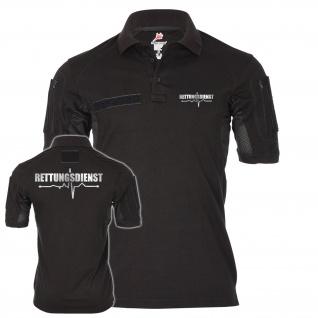 Tactical Poloshirt Rettungsdienst Beruf Berufung Dienst Dienstzeit #25195