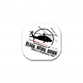 Aufkleber/Sticker Black Hawk Down UNO Mission Malaysia Pakistan 7x7cm A2027