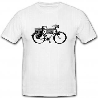 Wh Rad Wh Fahrrad Militär Heer- T Shirt #5403