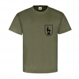 Horrido de Gams Gebirgsjäger Steinbock Edelweiß Wappen Abzeichen T Shirt #15288