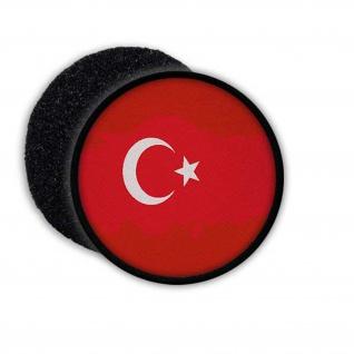 Türkei Patch Landesflagge Aufnäher Halbmond Stern Land Wappen #22974