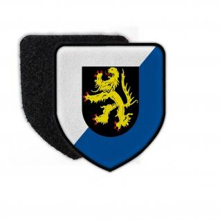 Patch HSchBrig 56 Heimatschutzbrigade Aufnäher Abzeichen Klett BW #25254