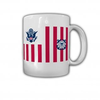 Coast Guard Abzeichen US USA Amerika Wappen Emblem - Tasse #26825