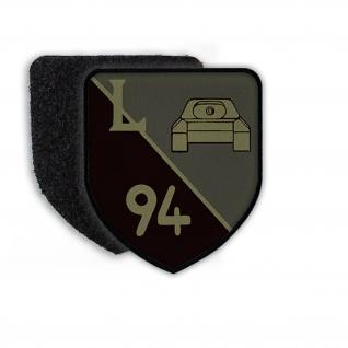 Patch Klett Flausch PzLehrBtl 94 Panzerlehrbataillon Munster Wappen #22399