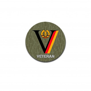 NVA DDR Veteran Dienstzeit Strichtarn Reservist Nationale Volksarmee 10cm #A5608