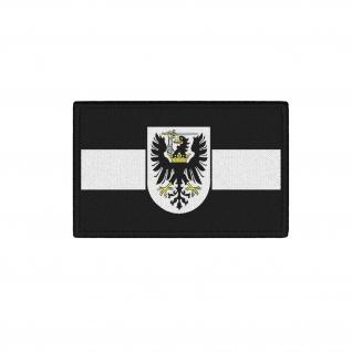 Patch Westpreußen Flagge Wappen Klett Uniform Heimatliebe Abzeichen Adler#37788