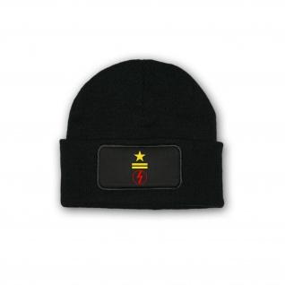 Mütze Stabsmatrose Funk Dienstgradabzeichen Kennzeichnung Marine DDR #33833