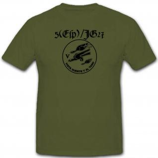5 Esp Jg27 Spanien Luftwaffe Jagdgeschwader 27 Bundeswehr T Shirt #2490