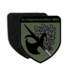 Patch JgBtl 861 Neuburg Wappen Oberbayern Jäger Bataillon Abzeichen #36513