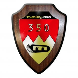 Wappenschild / Wandschild -PzPiKp350 Panzerpionierkompanie 350 Pios #9636