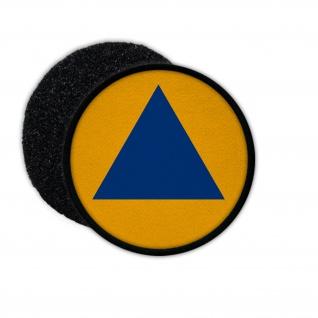 Patch Zivilschutz Deutschland Katastrophenschutz Wappen KatS Bunker blau #30071