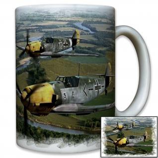 Me109 Galland Luftwaffe Deutschland Jagdflugzeug Me 109 Jäger - Tasse #10404 T