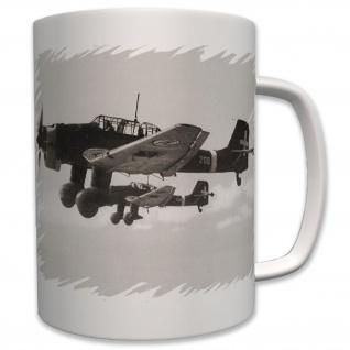 Ju 87 Stuka Flugzeug Luftwaffe Militär Army Armee - Tasse #6221
