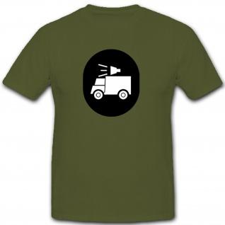 Wiedergabemechaniker Abzeichen NVA DDR Militär Emblem Wappen - T Shirt #7915